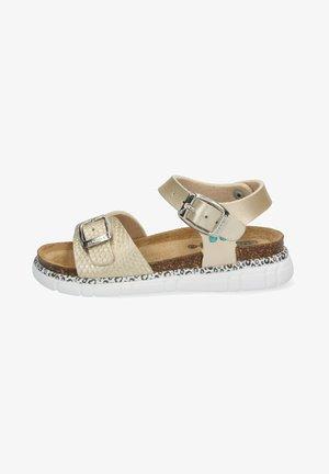 BO BEACH - Platform sandals - gold