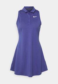 Nike Performance - POLO DRESS - Vestido de deporte - purple dust/white - 0