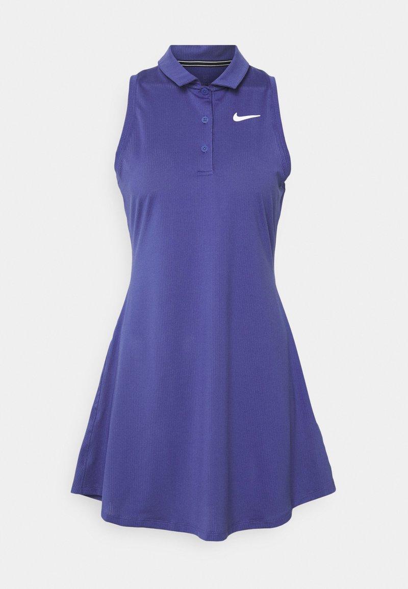 Nike Performance - POLO DRESS - Vestido de deporte - purple dust/white
