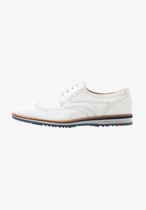 DAILY - Volnočasové šněrovací boty - white