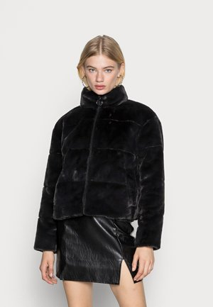 VMLYON SHORT JACKET - Winter jacket - black