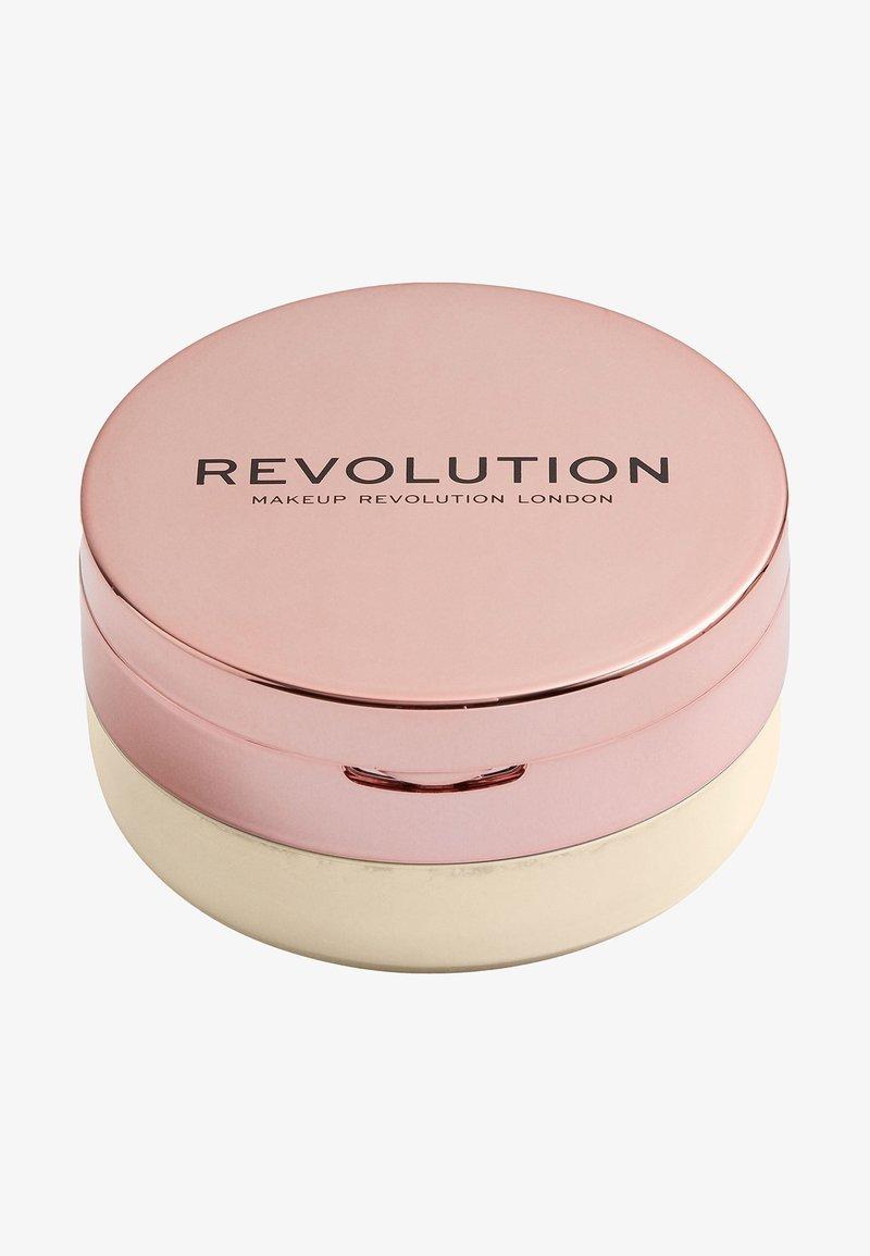 Make up Revolution - CONCEAL & FIX SETTING POWDER - Setting spray & powder - light yellow