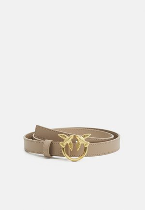 LOVE BERRY SMALL SIMPLY BELT - Riem - beige champagne