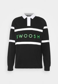 Nike Sportswear - RUGBY - Polo shirt - black/white/green - 3