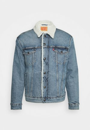TRUCKER UNISEX - Farkkutakki - blue denim
