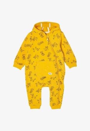 Jumpsuit - yellow aop