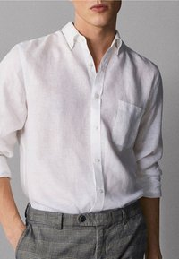 Massimo Dutti - IM REGULAR-FIT - Shirt - white - 3
