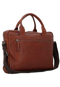 Strellson - UPMINSTER - Briefcase - cognac - 1