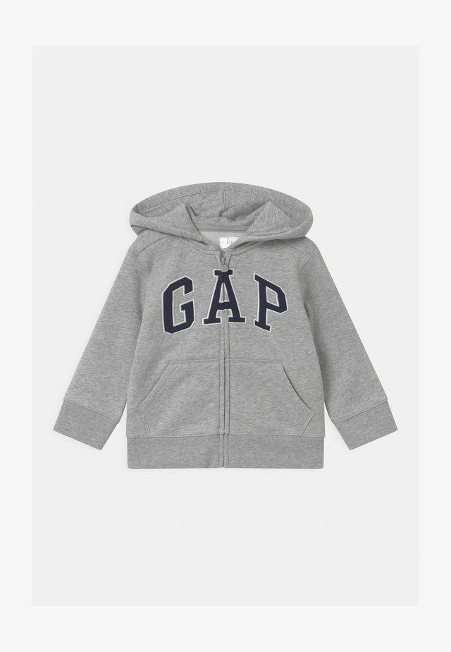 TODDLER BOY LOGO - Zip-up hoodie - light heather grey