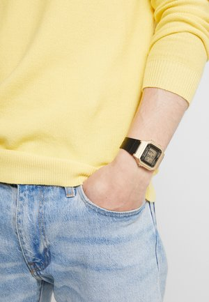 Digital watch - gold-coloured