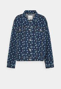 Monki - Denim jacket - blue medium - 4