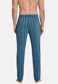 Schiesser - SCHIESSER LANG MIX & RELAX - Pyjama bottoms - blau gestreift - 1