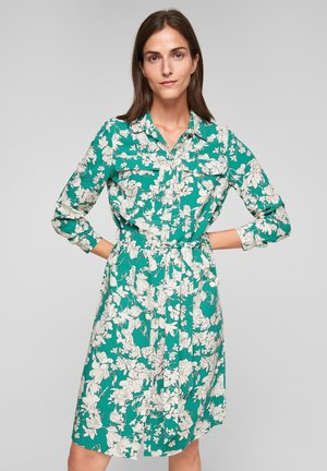 GEBLÜMTES - Shirt dress - leaf green