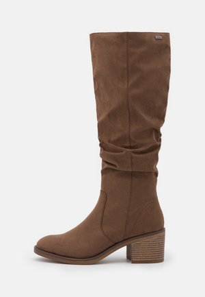 Boots - dark taupe