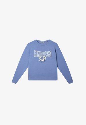 MIT PRINT  - Sweatshirts - blue