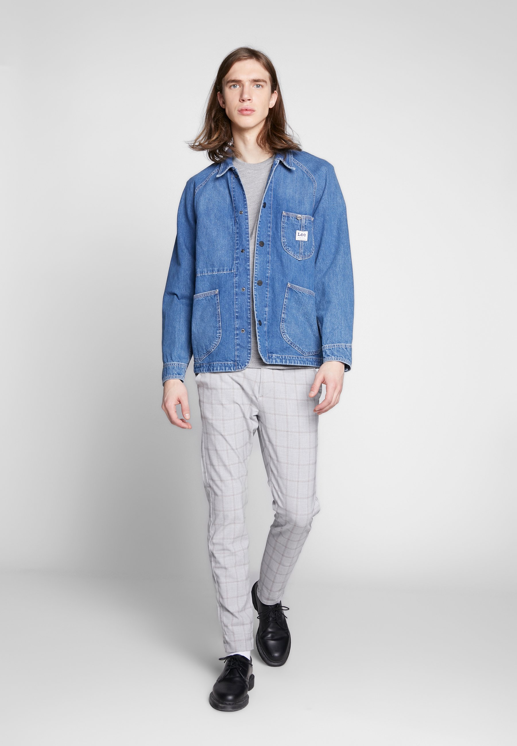 Lee LOCO REWORK - Veste en jean - blue denim