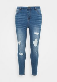 Simply Be - HIGH WAIST  - Jeans Skinny Fit - mid blue - 0