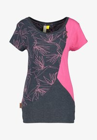 alife & kickin - ZOEAK - Print T-shirt - fuchsia - 5