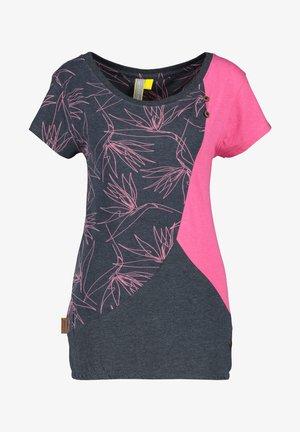 ZOEAK - Print T-shirt - fuchsia