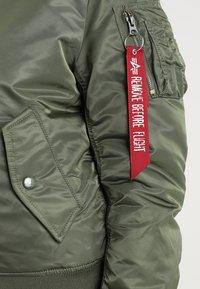Alpha Industries - Bomber Jacket - sage green - 4