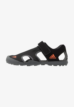 CAPTAIN TOEY - Outdoorsandalen - core black/orange/grey five