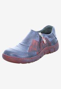 Kacper - Slip-ons - blue/red - 1