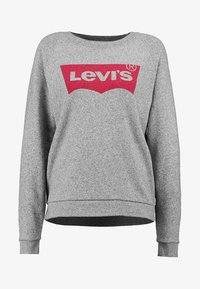 Levi's® - RELAXED GRAPHIC CREW - Sweatshirt - smokestack heather