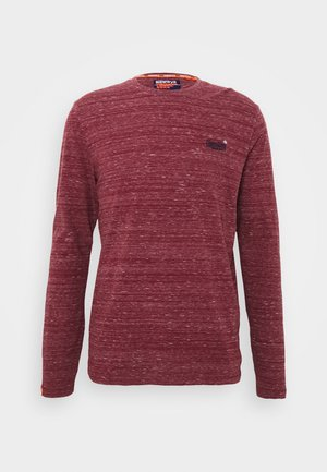 Bluzka z długim rękawem - brick red space dye