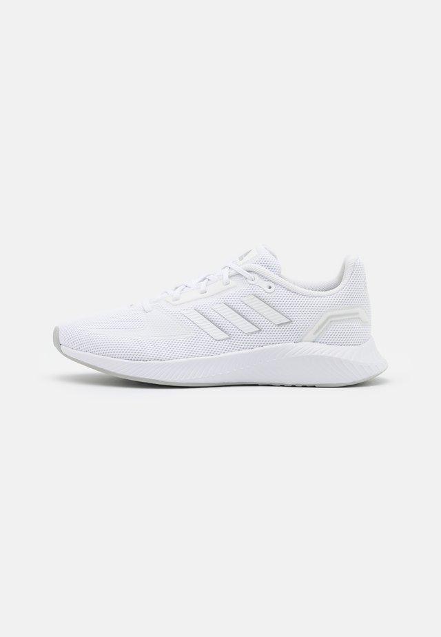 RUNFALCON 2.0 - Hardloopschoenen neutraal - footwear white/silver metallic