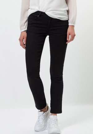 SEATTLE SLIM FIT 30 INCH - Straight leg jeans - black wash out