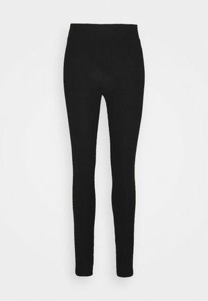 PCRIBBI - Leggings - black