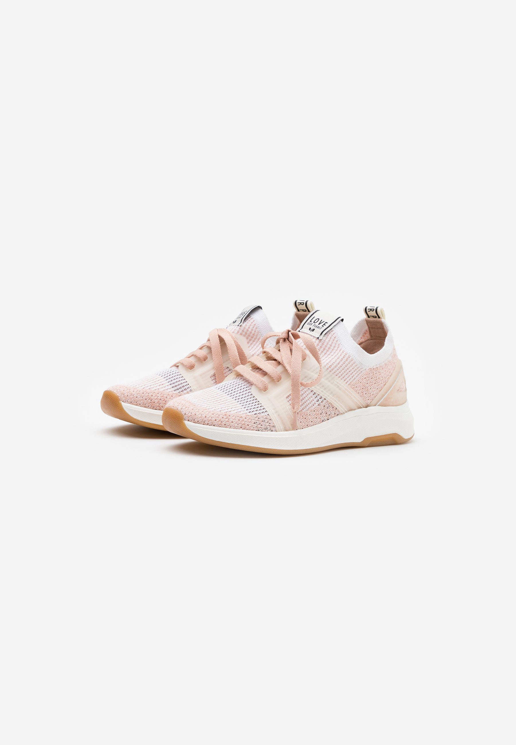 LOVE OUR PLANET by NOVI VENERE Sneaker low blush/offwhite/rosa