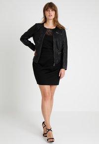 ONLY Carmakoma - CAROKRA  - Faux leather jacket - black - 2