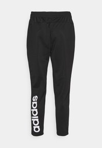 adidas Performance - Tracksuit bottoms - black/white - 5