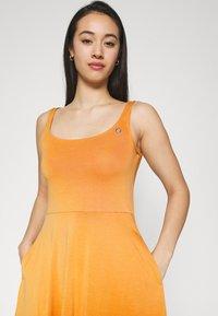 Ragwear - TRISHA - Jersey dress - yellow - 3