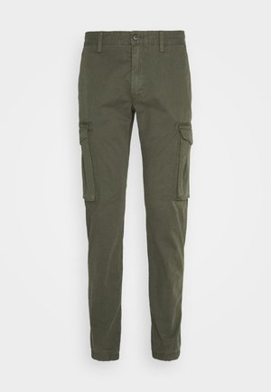 Cargo trousers - khaki/oliv