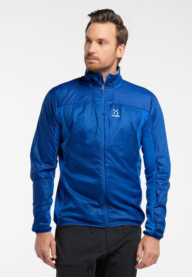 SUMMIT HYBRID JACKET - Outdoor jacket - blue