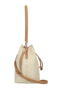 Valentino Bags - LIUTO - Handbag - ecru multi - 4