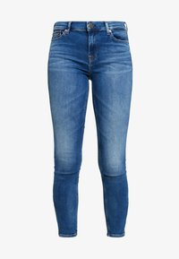Tommy Jeans - NORA MID RISE SKNY ANKL ZIPMNM - Jeans Skinny Fit - maine mid bl str - 3