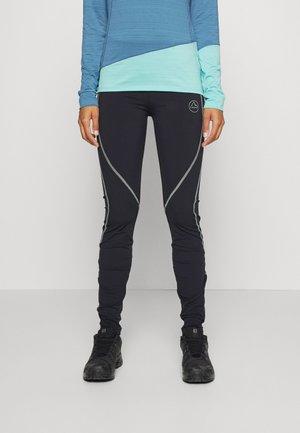 INSTANT PANT - Leggings - black/sage