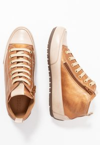 Candice Cooper - MID - Sneakers high - brunette/sabbia - 3