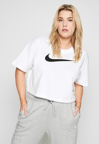 Nike Sportswear - PANT - Tracksuit bottoms - grey heather/white - 3