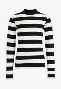 WE Fashion - ROLNEK - Long sleeved top - black - 3