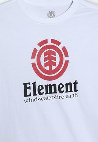 Element - VERTICAL BOY - Print T-shirt - optic white - 3