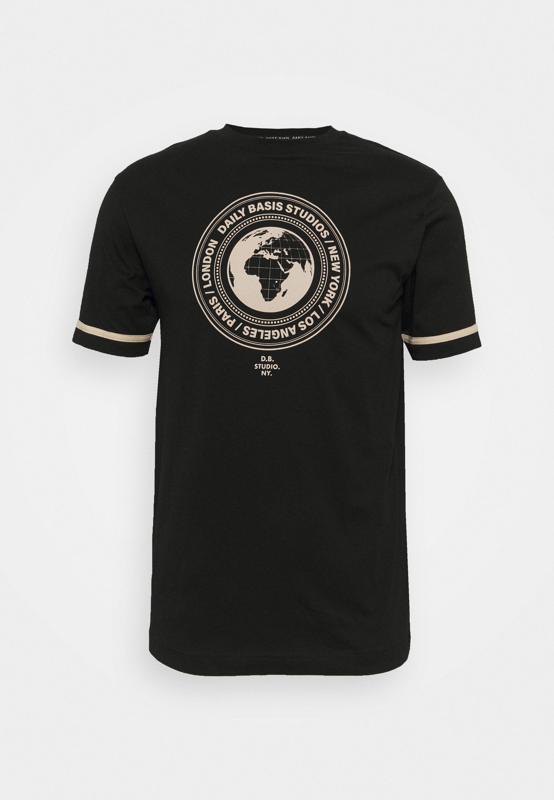 Damen CIRCLE GLOBE TEE UNISEX - T-Shirt print