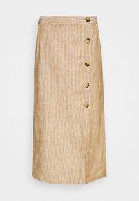 Masai - SACHA - Spódnica ołówkowa  - chipmunk - 4