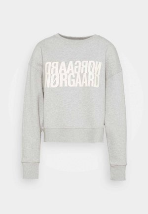 ORGANIC TILVINA - Sweatshirts - light grey melange