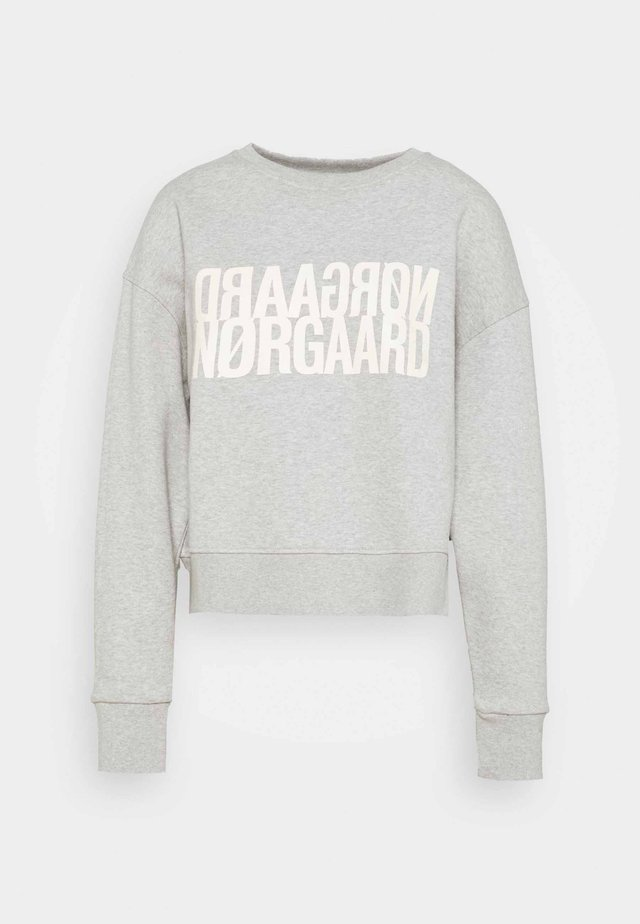ORGANIC TILVINA - Sweatshirt - light grey melange