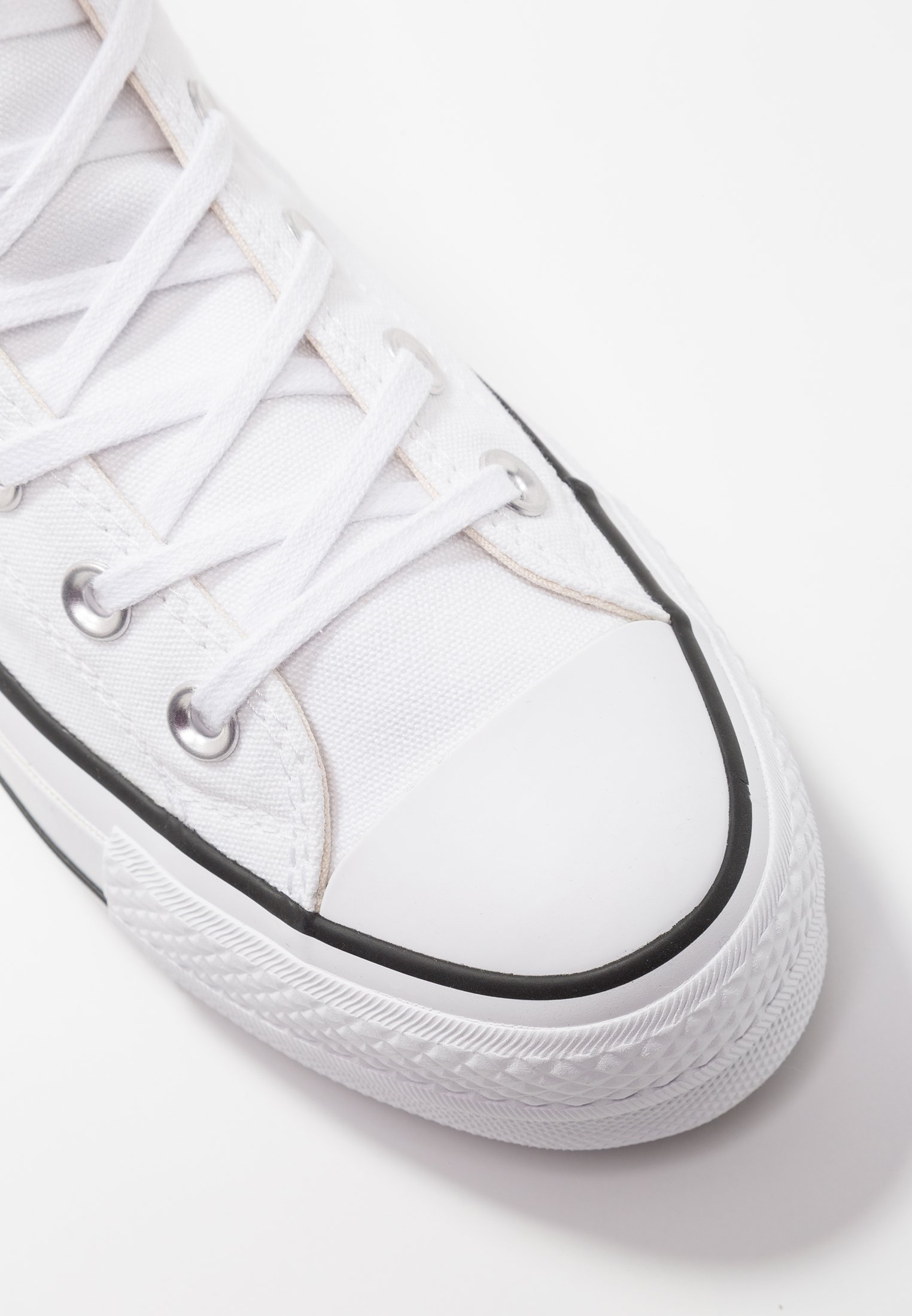 Converse Chuck Taylor All Star Lift - Sneakers Hoog White/black