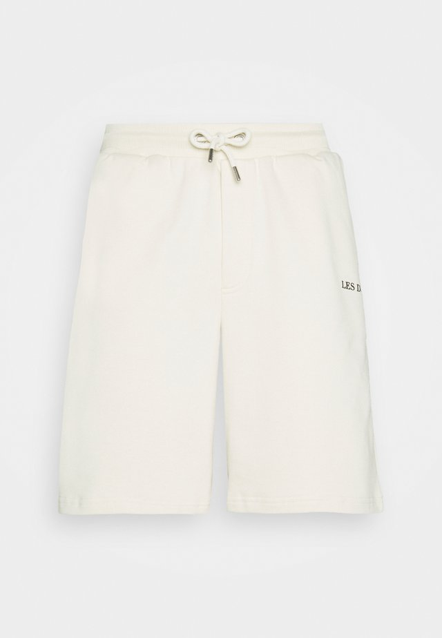 LENS - Shorts - ivory/black